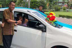 Satpam perumahan menangkan undian mobil Bank Jogja