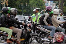 Arus mudik di kawasan Pasar Bantul meningkat