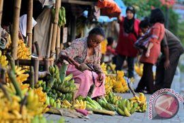 Penjual pisang pinggir jalan
