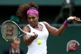 Serena dikalahkan Kvitova di putaran kedua Cincinnati Terbuka