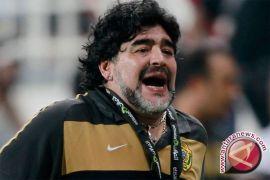 Maradona: Messi  jangan dianggap sebagai dewa sepak bola