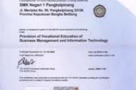 MTSN Bantul Kota terima Sertifikat ISO 9001