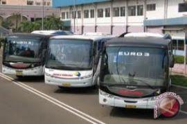 Pemesanan tiket bus Lebaran masih normal