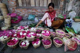 Penjual bunga musiman