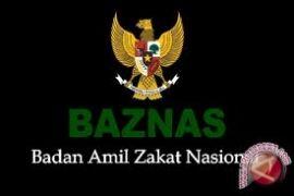 Baznas menyerahkan bantuan pengungsi Palestina dan Suriah