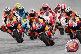 Andrea Dovizioso memenangi balap pembukaan MotoGP di Qatar