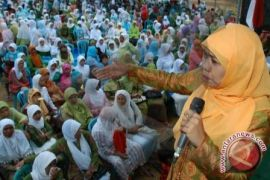 Khofifah ingin muslimat ikut aktif berantas narkoba