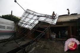 Angin kencang rusak 26 rumah di Bantul