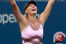 Sharapova ke putaran kedua kalahkan Kirilenko di AS Terbuka