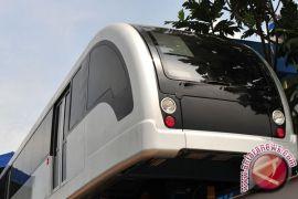 Jalur kereta api layang siap dioperasikan 2020