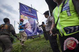 Bawaslu Gunung Kidul tertibkan alat peraga kampanye