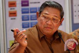 SBY nobar Final Piala Dunia 2018 di Yogyakarta