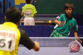 Tenis meja putri Indonesia kalah telak dari Korsel