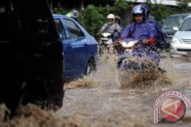 Sejumlah ruas jalan di Yogyakarta masih rawan genangan