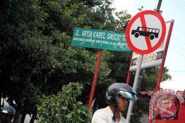 Vandalisme rambu lalu lintas Kota Yogyakarta masih marak