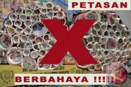Polres Kulon Progo sita ribuan petasan