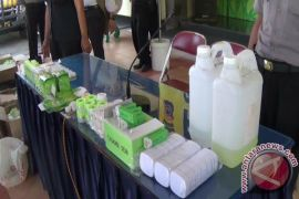 Polda DIY tangkap pengedar kosmetik ilegal