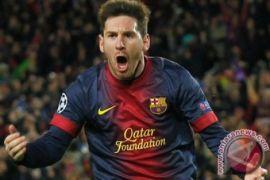 Gol Lionel Messi membawa Barcelona terhindar dari kekalahan