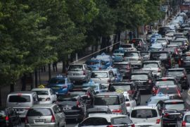 Kemacetan Brebes terkonsentrasi di perlintasan KA Tonjong