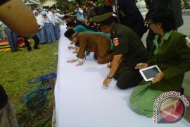 Ratusan pelajar Bantul deklarasikan pelajar antinarkoba