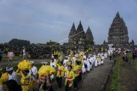 Ribuan umat Hindu ikuti Tawur Kesanga Nasional