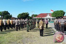 TNI/Polri gelar apel pengamanan kedatangan obama di Yogyakarta