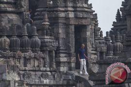 Barack Obama kunjungi Candi Prambanan