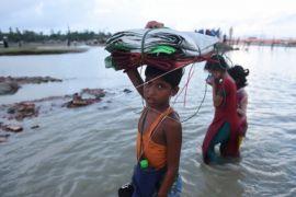 Pengungsi Rohingya menangis meminta pertolongan DK-PBB