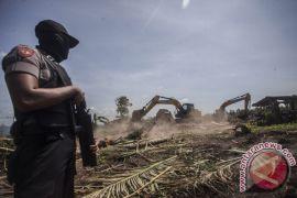 Pemkab terjunkan 500 relawan amankan pengosongan lahan