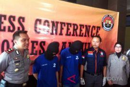 Rekonstruksi percobaan pembunuhan mahasiswi Klaten