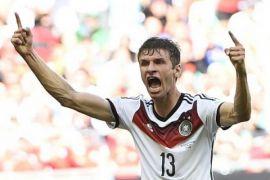 Thomas Mueller akan absen dalam pertandingan melawan Brazil