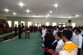 KPU Kulon Progo melantik PPK-PPS