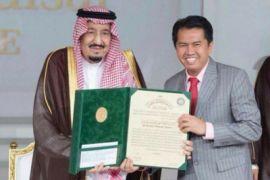Profesor asal Indonesia menerima hadiah 200 ribu dolar AS dari Raja Salman