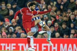 Mohamed Salah mengincar rekor sepatu emas Liga Inggris