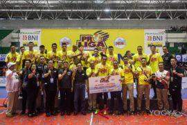 Surabaya Bhayangkara Samator juarai Proliga Putra 2018