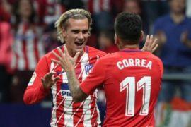 Unggul 2-0, Atletico Madrid tetap bertahan di Liga Europa