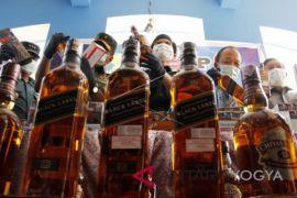 Polres Gunung Kidul operasi peredaran minuman keras