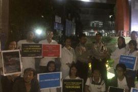Mahasiswa UBL aksi damai kecam tindakan teror