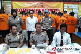 Polisi tangkap empat pengedar