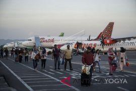 Arus mudik Bandara Adisutjipto capai 28.267 penumpang
