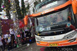 45 bus program balik gratis berangkat dari Terminal Giwangan
