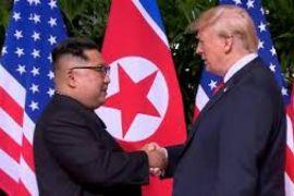 Trump jalin hubungan baik dengan Kim saat pertemuan