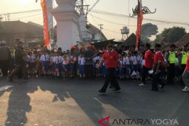 Yogyakarta bangga menjadi kota pertama pawai obor Asian Games