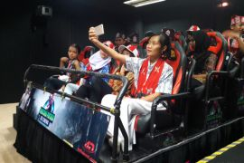 BUMN HADIR- Peserta SMN Kalteng kunjungi perpustakaan termegah di Yogyakarta