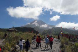 BPPTKG: cuaca Gunung Merapi cerah pada Sabtu pagi