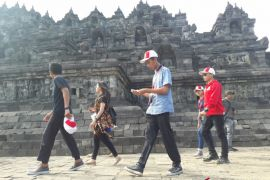 BUMN HADIR - SMN Kalteng kunjungi Candi Borobudur