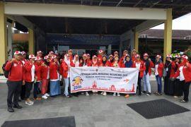 BUMN HADIR - Peserta SMN Kalteng kembali ke Palangkaraya