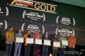 Sleman raih terbaik kedua penghargaan IAA bidang pariwisata