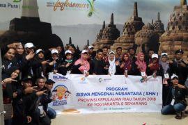 BUMN HADIR - SMN Kepulauan Riau tiba di Bandara Adisutjipto
