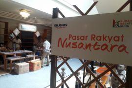 Pasar Rakyat Nusantara ditutup, transaksi penjualan capai Rp350 juta